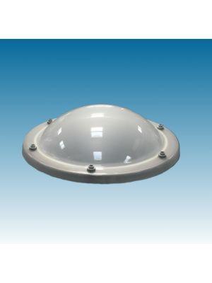 lichtkoepel rond90 vierwandig acrylaat (PMMA/PMMA/PMMA/PMMA) opaal
