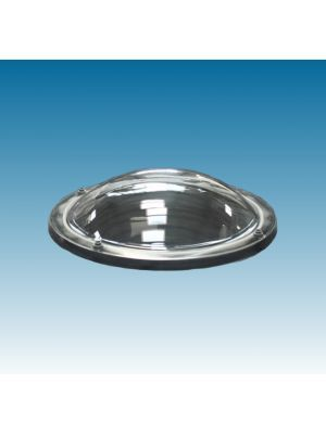 lichtkoepel rond 160 enkelwandig polycarbonaat (PC) bolvormig
