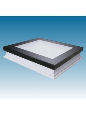 Fakro vlakke lichtkoepel vast DXF DU6 Politiekeurmerk 0,70 W/m²K