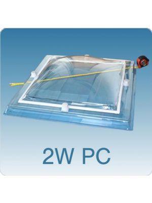 Losse koepel dubbelwandig polycarbonaat (PC/PC)