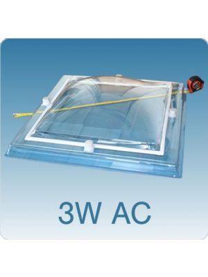 Losse koepel driewandig acrylaat (PMMA/PMMA/PMMA)