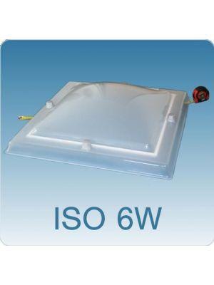 Superisolerende koepel (PMMA/PC/PMMA)