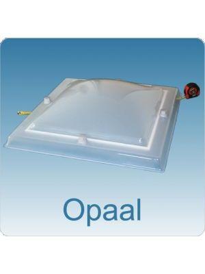 lichtkoepel 120 x 210 driewandig acrylaat (PMMA/PC/PMMA) bolvormig ISOkoepel