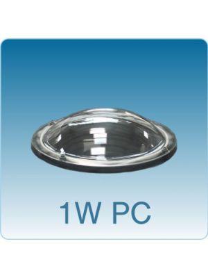 Losse ronde lichtkoepel enkelwandig polycarbonaat (PC)
